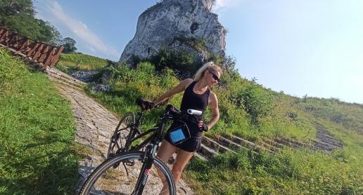 Rowerem przez Jurę - Mstów i Olsztyn - zdjęcie