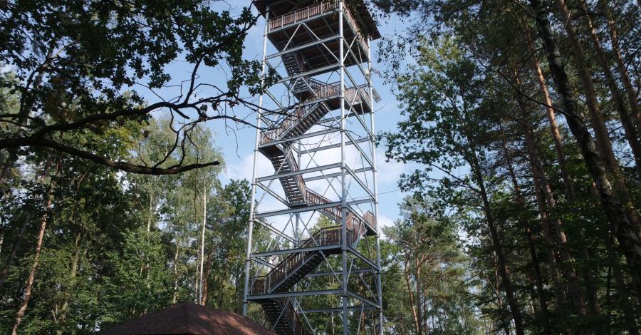 Iwkowa - wieża widokowa - zdjęcie
