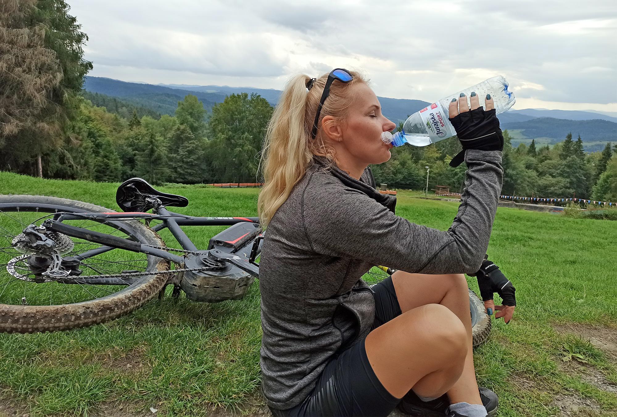 Na rowerkach, Góra Parkowa