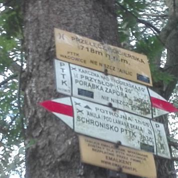 Mały Szlak Beskidzki-przełęcz kocierska -krzeszów - zdjęcie