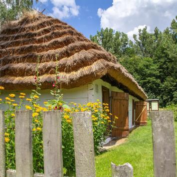 Sielsko w Sieradzkim Parku Etnograficznym - zdjęcie