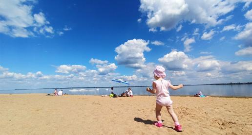 Wspomnienie lata nad zbiornikiem Jeziorsko - zdjęcie