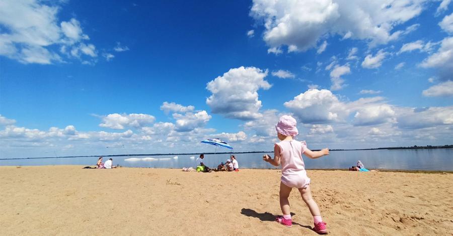 Kilka przyjemnych chwil nad zbiornikiem Jeziorsko - zdjęcie