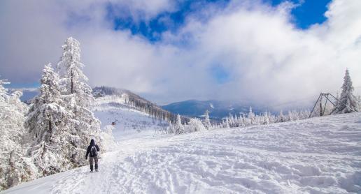 Cudowna zima na Klimczoku - zdjęcie