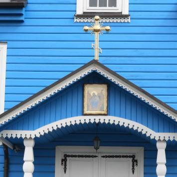 Niebieskie cerkwie na Podlasiu - zdjęcie