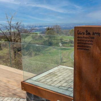 Góra Świętej Anny - Opolskie małe ale kwitnie - zdjęcie