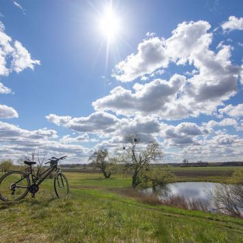 Stobrawski Park Krajobrazowy - Opolskie małe ale kwitnie - zdjęcie