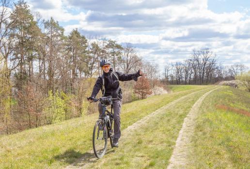 Na rowerze wałem