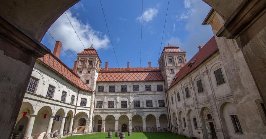 Opolskie zamki - Niemodlin i Dąbrowa oraz arboretum w Lipnie - zdjęcie