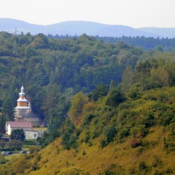 Pójdę w Połoniny... czyli na szlaku z bieszczadzkimi aniołami - Dzień I (Zagórz, Zamek Sobień) - zdjęcie