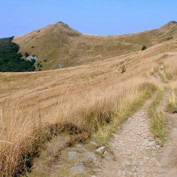 Pójdę w Połoniny... czyli na szlaku z bieszczadzkimi aniołami - Dzień III (Połonina Wetlińska, Solina) - zdjęcie
