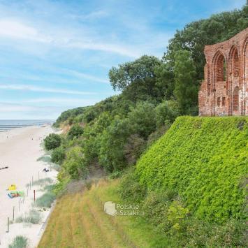 Trzęsacz - gdzie morze zabrało kościół - zdjęcie
