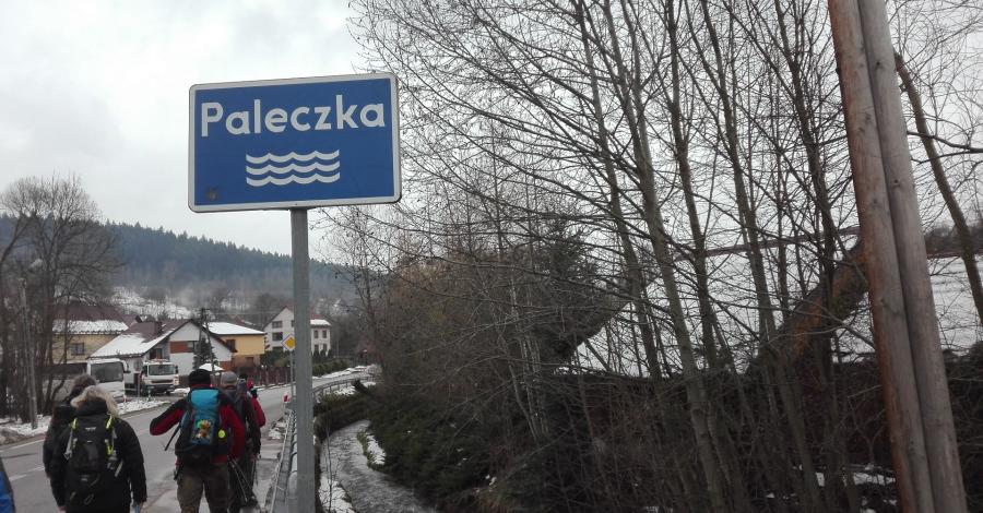 Mały Szlak Beskidzki;Palcza-Myślenice - zdjęcie
