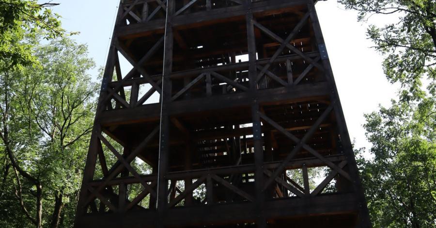 Wieża widokowa na górze Cergowa - zdjęcie