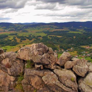 Poznajemy Karkonosze - Dzień VI - Wodospad Szklarki, Wodospad Podgórnej, Kaskady Myi, Sokole Góry - zdjęcie