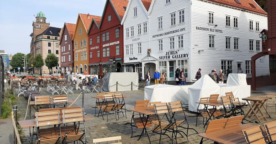 Bergen -Norwegia. - zdjęcie