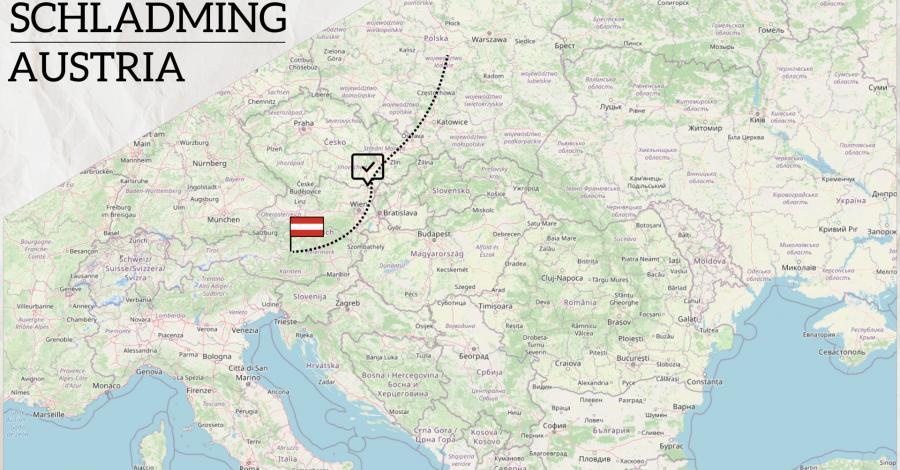 Eurotrip 2021 część 2 - Schladming Dachstein, Austria - śladami Roberta Makłowicza - zdjęcie